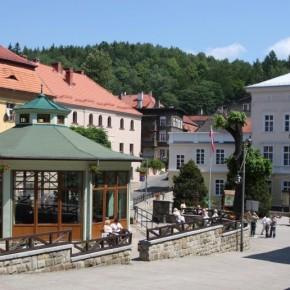 Centrum Jedliny Zdrój.