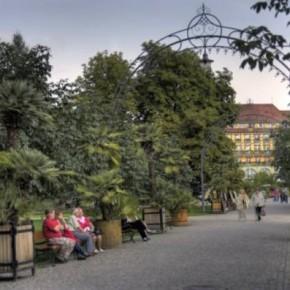 Park Zdrojowy w Kudowie Zdrój.