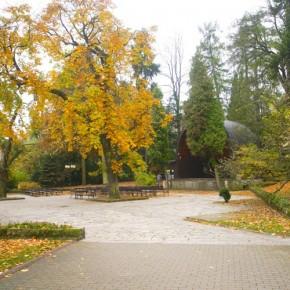 Park Zdrojowy w Polanicy Zdrój.