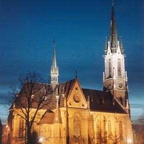 Kościół p.w. św. Antoniego w Pieszycach.