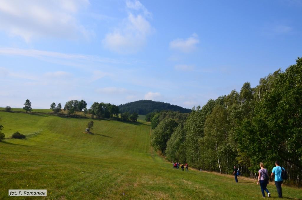1. Szlak Bogatynia → Guślarz - pierwsza znakowana ścieżka krajoznawcza w Bogatyni (fot. Franciszek Romaniak)