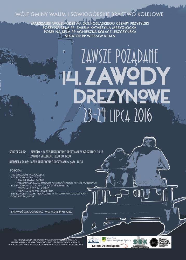 drezyny plakat 2016